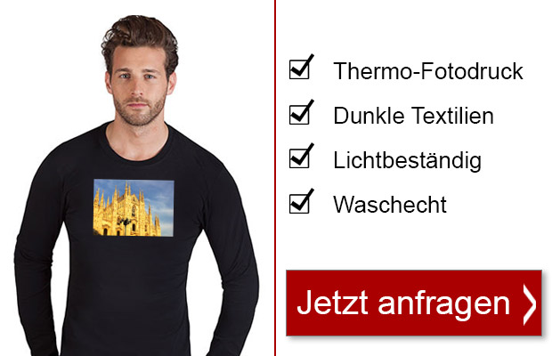Thermo-Sublimation - jetzt anfragen